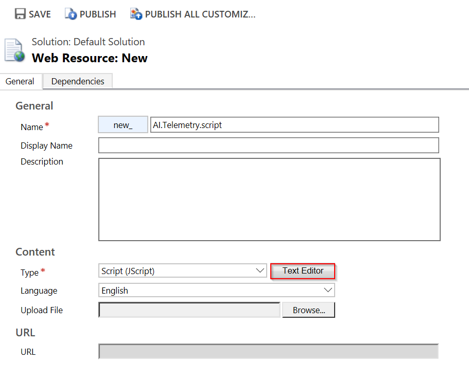 Application Insights Overview: Integrating with Dynamics CRM